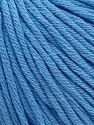 Fiber Content 50% Cotton, 50% Acrylic, Brand ICE, Baby Blue, fnt2-62755