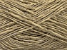 Fiber Content 65% Acrylic, 35% Viscose, Brand ICE, Beige, Yarn Thickness 2 Fine  Sport, Baby, fnt2-62760