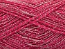 Fiber Content 65% Acrylic, 35% Viscose, Brand ICE, Candy Pink, Yarn Thickness 2 Fine  Sport, Baby, fnt2-62766