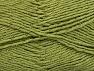 Fiber Content 49% Cotton, 49% Premium Acrylic, 2% Metallic Lurex, Khaki, Brand ICE, fnt2-62892