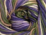 Fiber Content 55% Cotton, 45% Acrylic, Lilac, Lavender, Khaki, Brand ICE, Cream, Camel, Yarn Thickness 3 Light  DK, Light, Worsted, fnt2-63087