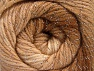 Fiber Content 95% Acrylic, 5% Lurex, Brand ICE, Cream, Brown Shades, Yarn Thickness 3 Light  DK, Light, Worsted, fnt2-63095