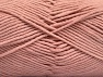Fiber Content 55% Cotton, 45% Acrylic, Powder Pink, Brand ICE, Yarn Thickness 4 Medium  Worsted, Afghan, Aran, fnt2-63102