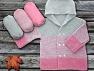 Fiberinnehåll 100% Antipilling Acrylic, Pink, Brand ICE, Grey, fnt2-63244