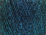 Contenido de fibra 70% Poliamida, 30% Metálicos Lurex, Turquoise, Brand ICE, Black, fnt2-63285