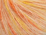 Fiber Content 35% Polyamide, 35% Kid Mohair, 30% Acrylic, Yellow, White, Orange, Brand ICE, fnt2-63286