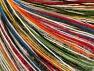 Fiber Content 40% Acrylic, 30% Wool, 30% Polyamide, White, Rainbow, Brand ICE, fnt2-63288