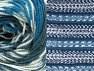 Fiber Content 70% Acrylic, 30% Wool, White, Brand ICE, Blue, Anthracite Black, fnt2-63387