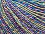 Fiberinnehåll 55% Bomull, 45% Akryl, Yellow, Pink, Lilac, Brand ICE, Green, Blue Shades, Yarn Thickness 3 Light  DK, Light, Worsted, fnt2-63415