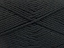 İçerik 52% Naylon, 48% Akrilik, Brand Ice Yarns, Black, Yarn Thickness 4 Medium Worsted, Afghan, Aran, fnt2-63460