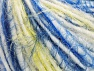 Fiberinnehåll 60% Akryl, 40% Polyamid, Yellow, White, Brand ICE, Blue, Yarn Thickness 5 Bulky  Chunky, Craft, Rug, fnt2-63508