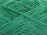 Vezelgehalte 60% Katoen, 28% Viscose, 10% Polyamide, Brand ICE, Emerald Green, fnt2-63564