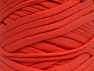 Make handbags,rugs,basket and cushion covers with this genius new-fashion yarn!<p>Since the yarn is made by upcycling fabrics, and because of the nature of the yarn; take the following notes into consideration. </p><ul><li>Fiber content information may vary. Information given about fiber content is approximate. </li><li>The yardage and weight information of the yarn is approximate. </li></ul> Vezelgehalte 95% Katoen, 5% Elastan, Salmon, Brand ICE, fnt2-63572