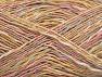 Contenido de fibra 40% Viscosa, 40% Algodón, 20% Acrílico, Light Pink, Light Blue, Brand ICE, Gold, Dark Cream, fnt2-63684