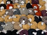 Amigurumi Chenille This mixed lot includes a total of 2000 gr (70.5 oz.) yarn. There is no standard for ball weight. Also disregard any information on the labels. You will get what you see in the photo. Fiber Content 100% Polyester, Brand ICE, fnt2-63860