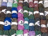 Fancy Yarns This mixed lot includes a total of 2000 gr (70.5 oz.) yarn. There is no standard for ball weight. Also disregard any information on the labels. You will get what you see in the photo. Brand ICE, fnt2-63869