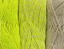 Vezelgehalte 90% Acryl, 10% Polyester, Neon Yellow, Brand ICE, Ecru, fnt2-64029