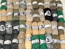 Summer Yarns This mixed lot includes a total of 2000 gr (70.5 oz.) yarn. There is no standard for ball weight. Also disregard any information on the labels. You will get what you see in the photo. Brand ICE, fnt2-64119