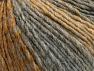 Contenido de fibra 70% Acrílico, 30% Lana, Brand ICE, Grey Shades, Gold, fnt2-64138