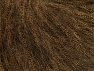 Fiber Content 30% Acrylic, 30% Polyester, 25% Wool, 15% Metallic Lurex, Brand ICE, Brown, fnt2-64178