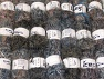 Eyelash Blends This mixed lot includes a total of 2000 gr (70.5 oz.) yarn. There is no standard for ball weight. Also disregard any information on the labels. You will get what you see in the photo. Brand ICE, fnt2-64322