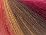 Vezelgehalte 60% Acryl, 20% Wol, 20% Angora, Red, Pink Shades, Brand ICE, Brown Shades, fnt2-64425