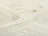 Fiberinnehåll 98% Akryl, 2% Paillette, White, Brand ICE, fnt2-64443
