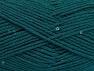 Fiberinnehåll 98% Akryl, 2% Paillette, Brand ICE, Emerald Green, fnt2-64449