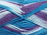 Fiber Content 100% Cotton, Turquoise Shades, Lilac, Brand ICE, fnt2-64455