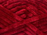 Fiberinnehåll 100% mikrofiber, Brand Ice Yarns, Burgundy, fnt2-64521