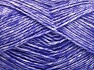 Fiber Content 80% Cotton, 20% Acrylic, Lilac, Brand Ice Yarns, fnt2-64565