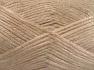 Fiber Content 70% Polyamide, 19% Wool, 11% Acrylic, Light Beige, Brand Ice Yarns, fnt2-64573