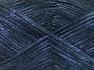 Fiber Content 70% Polyamide, 19% Wool, 11% Acrylic, Brand Ice Yarns, Dark Blue, Black, fnt2-64581