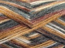 Fiber Content 70% Polyamide, 19% Wool, 11% Acrylic, White, Brand Ice Yarns, Grey Shades, Gold, Brown, fnt2-64593