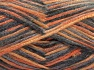 Fiber Content 70% Polyamide, 19% Wool, 11% Acrylic, Orange Shades, Brand Ice Yarns, Grey Shades, fnt2-64594