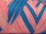 Fiber Content 100% Acrylic, Pink Shades, Brand Ice Yarns, Blue, fnt2-64646