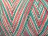 Fiber Content 100% Acrylic, Salmon Shades, Brand Ice Yarns, Green, fnt2-64654