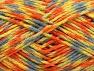 Περιεχόμενο ίνας 60% Ακρυλικό, 40% Μαλλί, Yellow, Orange, Light Blue, Brand Ice Yarns, Green, fnt2-64803