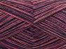 Fiber Content 50% Cotton, 50% Acrylic, Purple, Pink, Brand Ice Yarns, Dark Navy, fnt2-65044