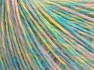 Fiber Content 85% Acrylic, 15% Wool, Pastel Colors, Brand Ice Yarns, fnt2-65137