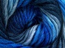 Vezelgehalte 50% Wol, 50% Acryl, Brand Ice Yarns, Blue Shades, fnt2-65179