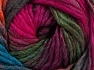 Vezelgehalte 50% Wol, 50% Acryl, Turquoise, Brand Ice Yarns, Fuchsia, Copper, fnt2-65182