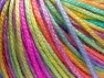 Fiber Content 56% Polyester, 44% Acrylic, Yellow, Purple, Pink, Brand Ice Yarns, Green, fnt2-65214