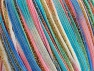 Fiber Content 85% Polyamide, 15% Metallic Lurex, Turquoise Shades, Pink Shades, Brand Ice Yarns, Green Shades, fnt2-65216