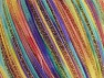 Fiber Content 85% Polyamide, 15% Metallic Lurex, Yellow, Turquoise, Purple, Brand Ice Yarns, Green, fnt2-65217