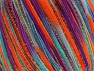 Fiber Content 85% Polyamide, 15% Metallic Lurex, Turquoise, Purple, Orange, Brand Ice Yarns, fnt2-65219