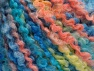 Contenido de fibra 55% Acrílico, 35% Lana, 10% Poliamida, Salmon, Light Yellow, Brand Ice Yarns, Blue Shades, fnt2-65230