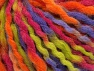 Fiber Content 60% Acrylic, 30% Wool, 10% Mohair, Purple, Orange, Brand Ice Yarns, Green, Fuchsia, fnt2-65263