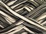 Fiberinnehåll 70% Bomull, 30% Polyamid, Brand Ice Yarns, Cream, Black, fnt2-65351