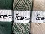 Vezelgehalte 100% antipilling acryl, Brand Ice Yarns, Green, Beige, fnt2-65370